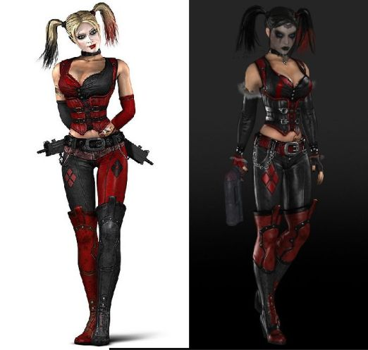 "Harlequin, ""Batman: Arkham City"""
