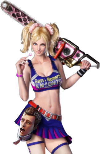 "Juliet Starling, ""Lollipop Chainsaw"""
