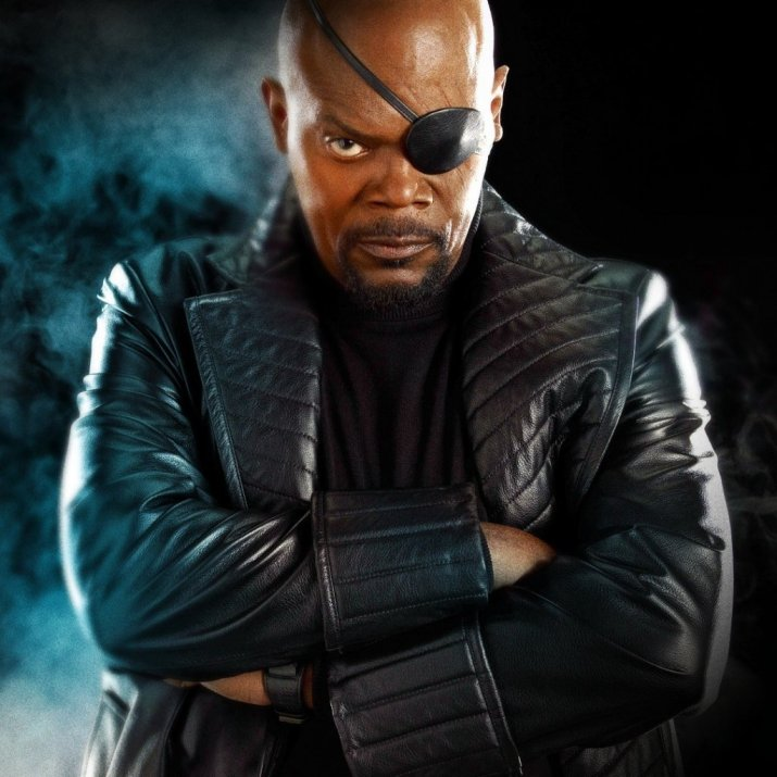 "Nick Fury from ""The Avengers"""
