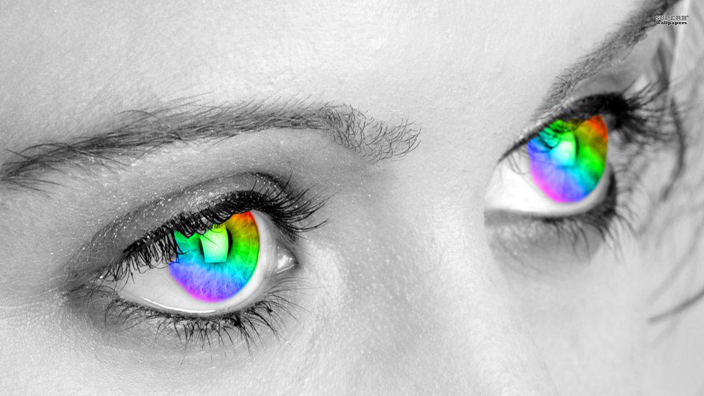 An Artist's Dream Eyes:Tetrachromatic