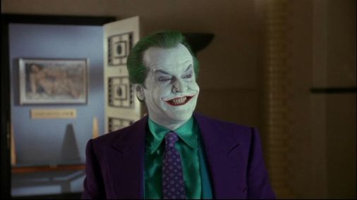 "Jack Nicholson as the Joker, ""Batman"" (1989)"