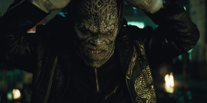 "Killer Croc from ""Suicide Squad"""